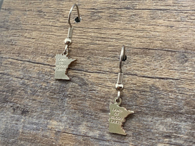 Minnesota Charm Earrings