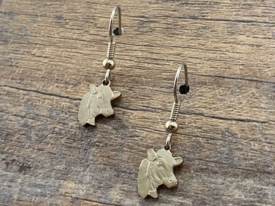 Wisconsin Charm Earrings