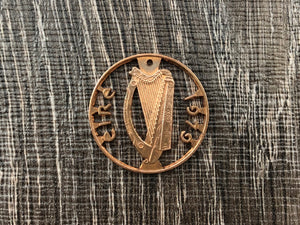 Ireland Harp Copper