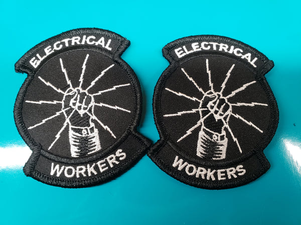 3.5 inch iron on patch. 2 for $5