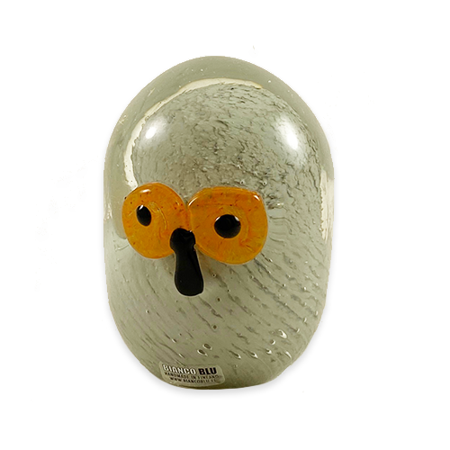 """Owl"" Glass Decor Piece, Finland"