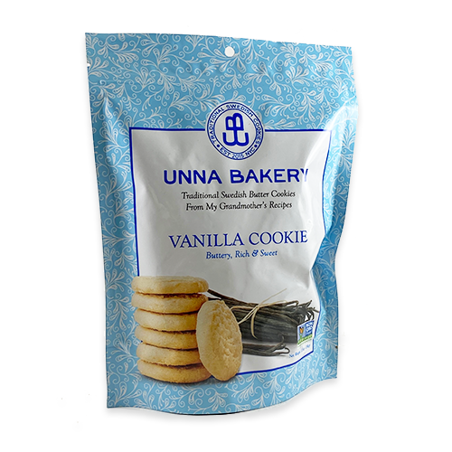Vanilla Swedish Butter Cookies