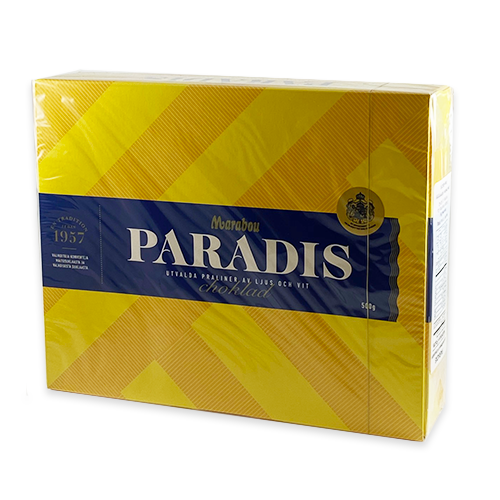 Paradis Assorted Chocolate Pieces Gift Box (Swedish)