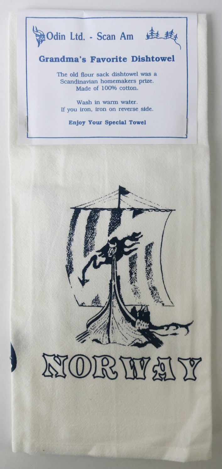 Grandma's Favorite Dishtowel - NORWAY