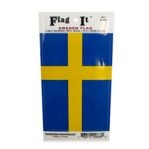 Flag Sticker - Sweden (1)