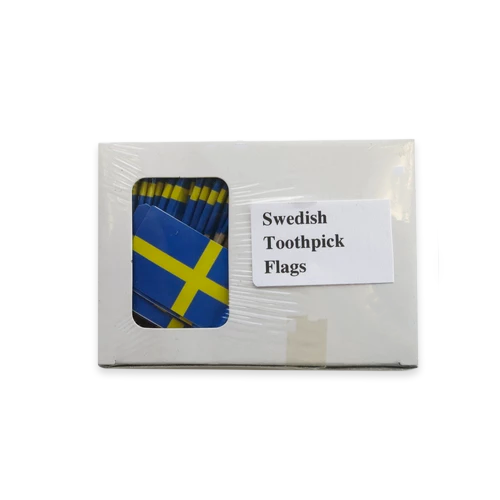 Swedish Flag Toothpicks
