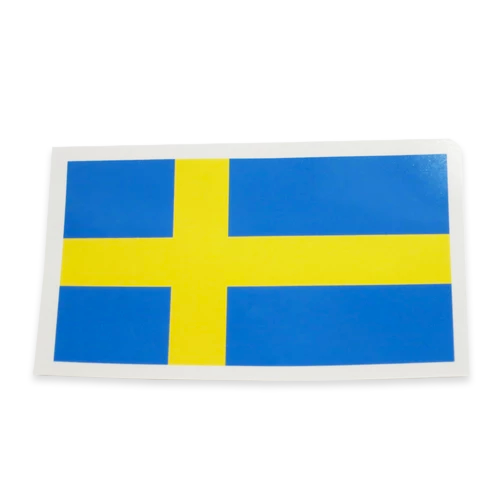 Rectangular Decal - Sweden