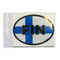 Oval Decal - Finnish Flag