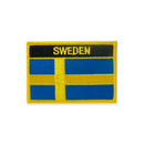 "Rectangular Patch - ""Sweden"""