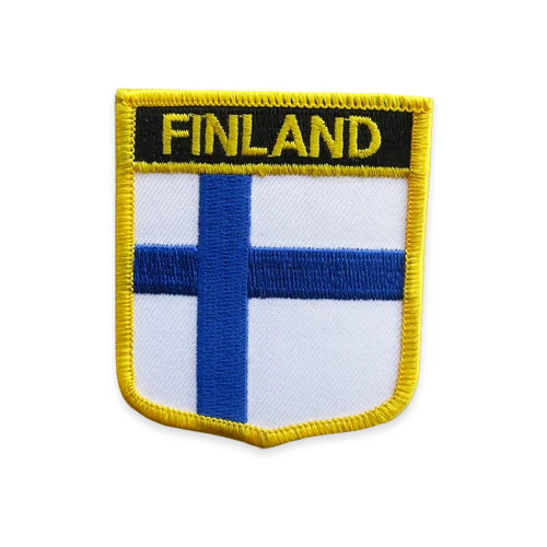Shield Patch - Finland