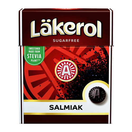 Salmiak Sugar-free Pastilles