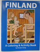 Finland Coloring & Activity Book