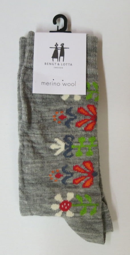 "Light Grey ""Monica"" Socks"