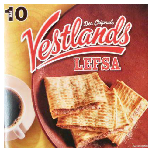Vestlands Lefse, Viking Bread (12.4 oz)