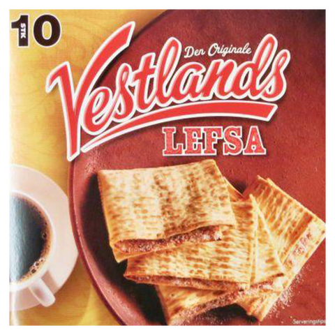 Vestlands Lefse (Viking Bread) by Rieber, Norway 12.4 oz