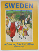 Sweden Coloring & Activity Book