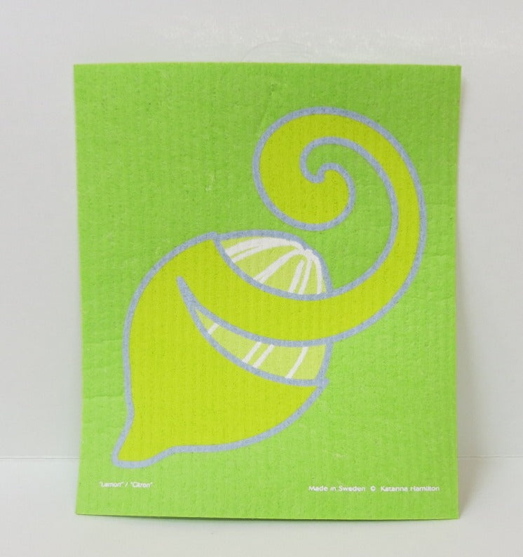 Lemon Peel Swedish Dishcloth