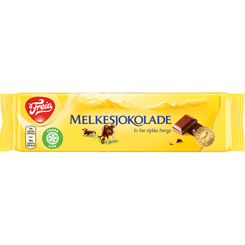 Freia Melkesjokolade, Milk Chocolate Bar - (60g)