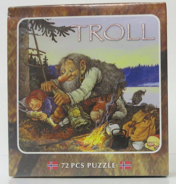 Trolls Camping Puzzle