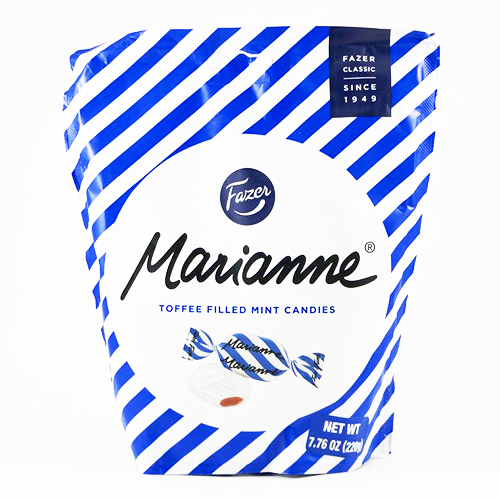 FAZER of Finland - Marianne Toffee Filled Mint Candy, 220g