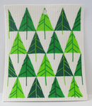 Trees Swedish Dishcloth