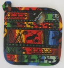 Heidi Lange Colorful Sami Design Pot Holder