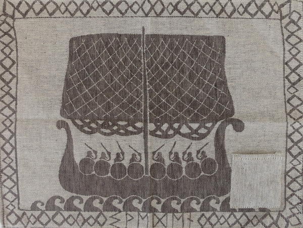 Viking Ship Kitchen Towel