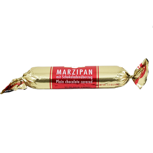 Marzipan, Plain Chocolate Covered (100g)