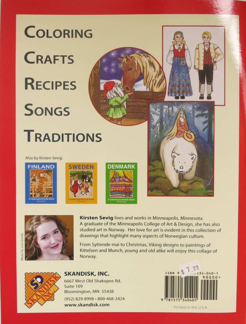 Norway Coloring & Activity Book
