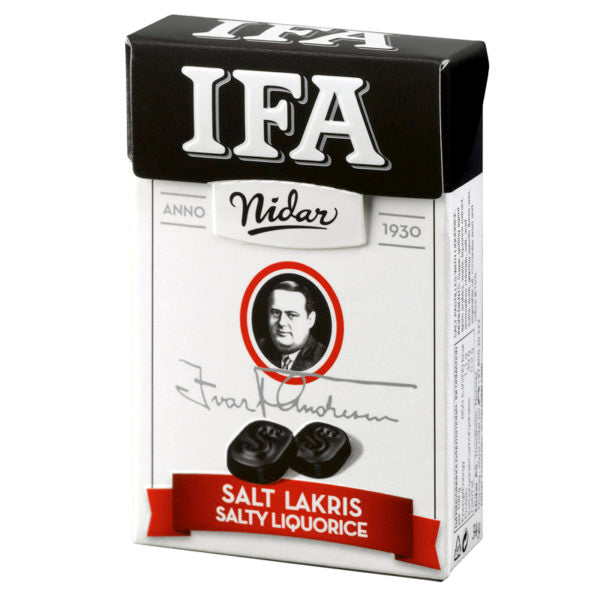 Nidar of Norway - IFA Salt Licorice
