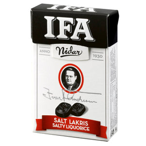 Nidar IFA Salt Licorice
