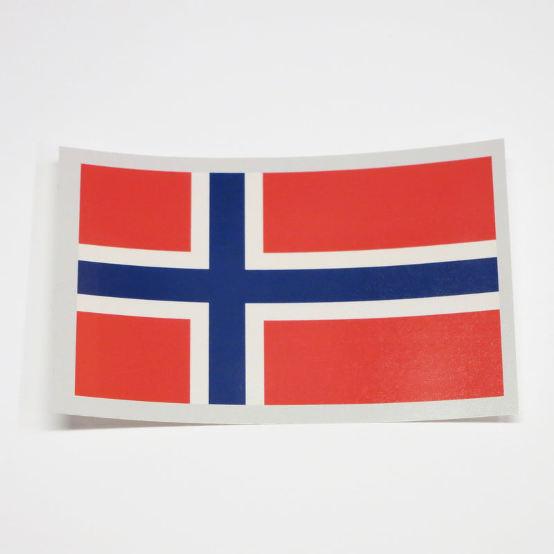 Rectangular Decal - Norway