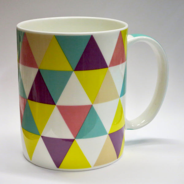 """Triangles"" Mug"