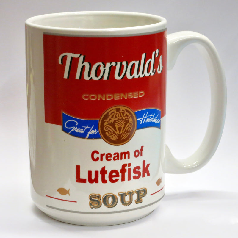 """Cream of Lutefisk Soup"" Mug"
