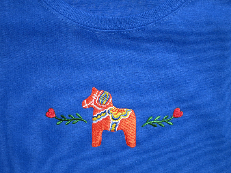 Dala Horse T-Shirt (Ladies)