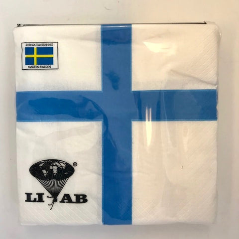 Finnish Flag Napkin - Luncheon/Dinner