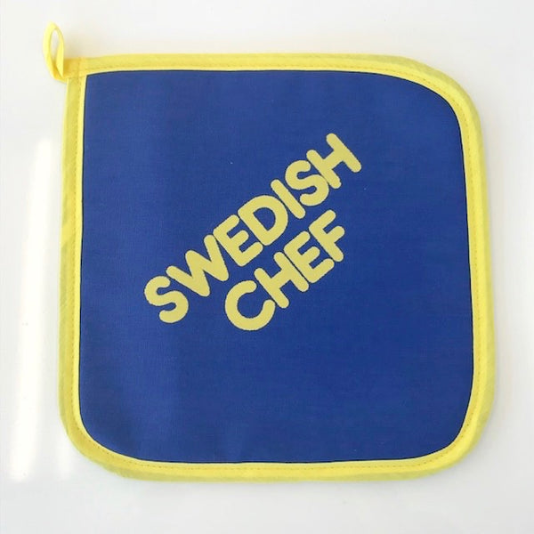 "Pot Holder - ""Swedish Chef"""