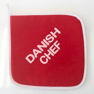 "Pot Holder - ""Danish Chef"""