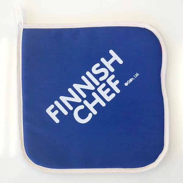 "Pot Holder - ""Finnish Chef"""