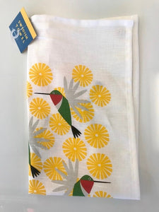 "Kitchen Towel - ""Hummingbird"""