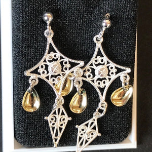 Sølje Earrings by Hasla