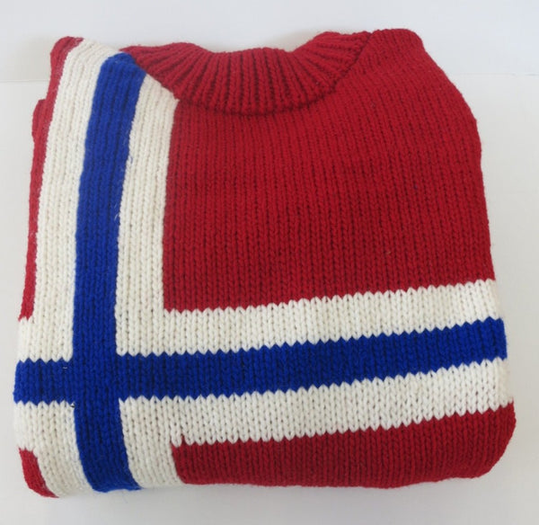 Norwegian Flag Sweater