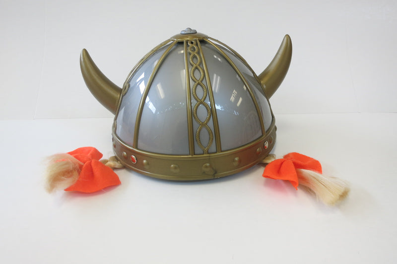 Viking Helmet- Youth Size w/ Braids