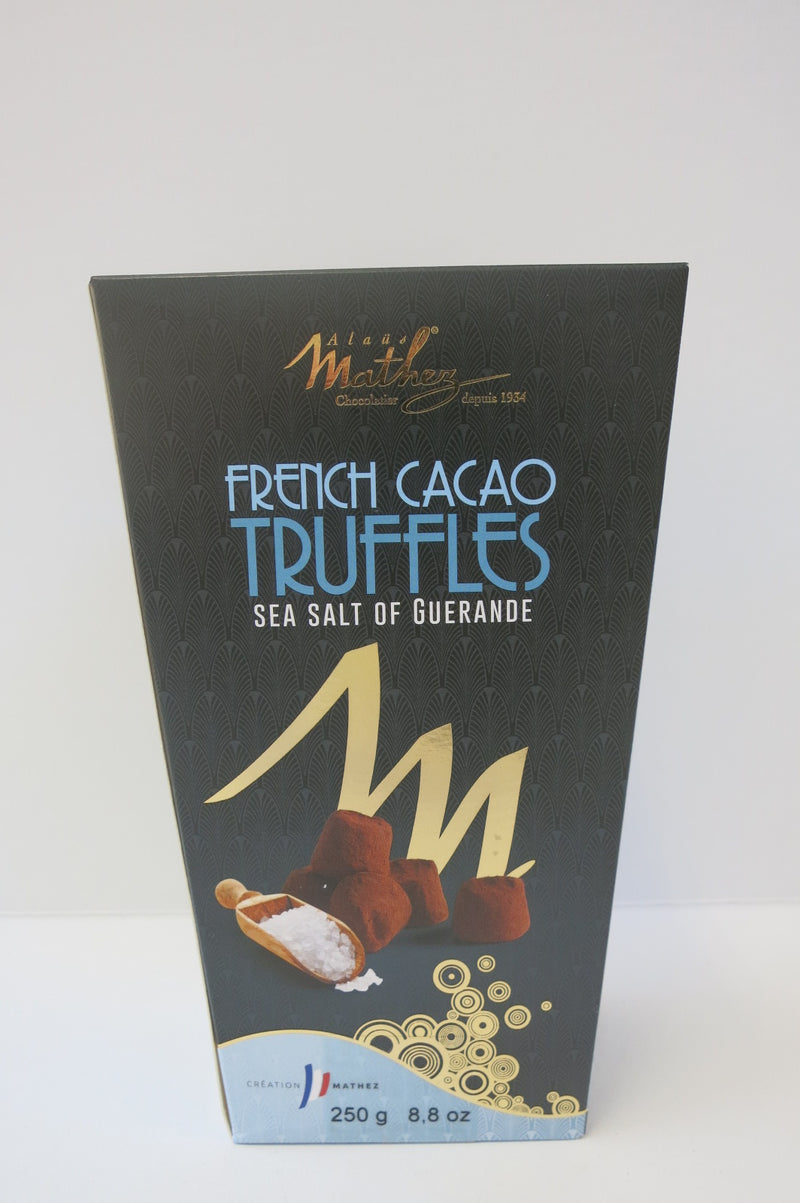 French Cacao Truffles Sea Salt of Guerande