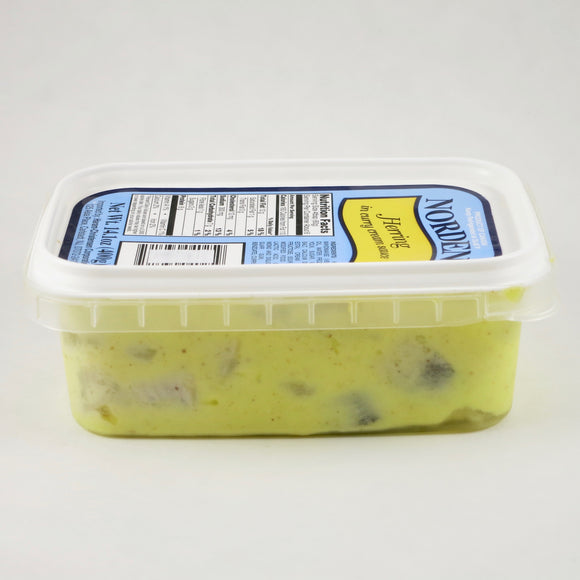 Herring in Curry Cream Sauce, by Norden (14 oz)