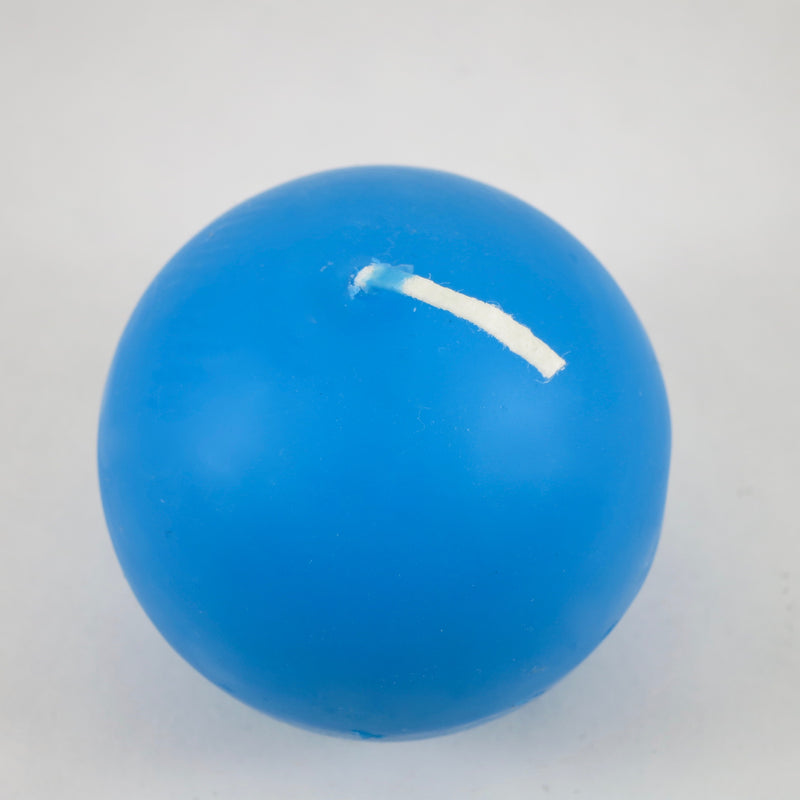 "2.5"" Sky Blue - Ball Candles from Denmark (PACK OF 4)"