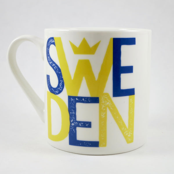 Mug - Sweden w/ Crown