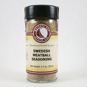 """Swedish Meatball Seasoning"" - by Wayzata Spice Co."