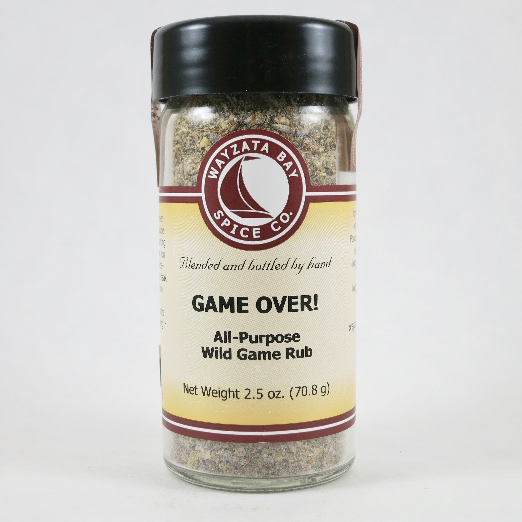 """Game Over!"" Wild Game Seasoning - by Wayzata Spice Co."
