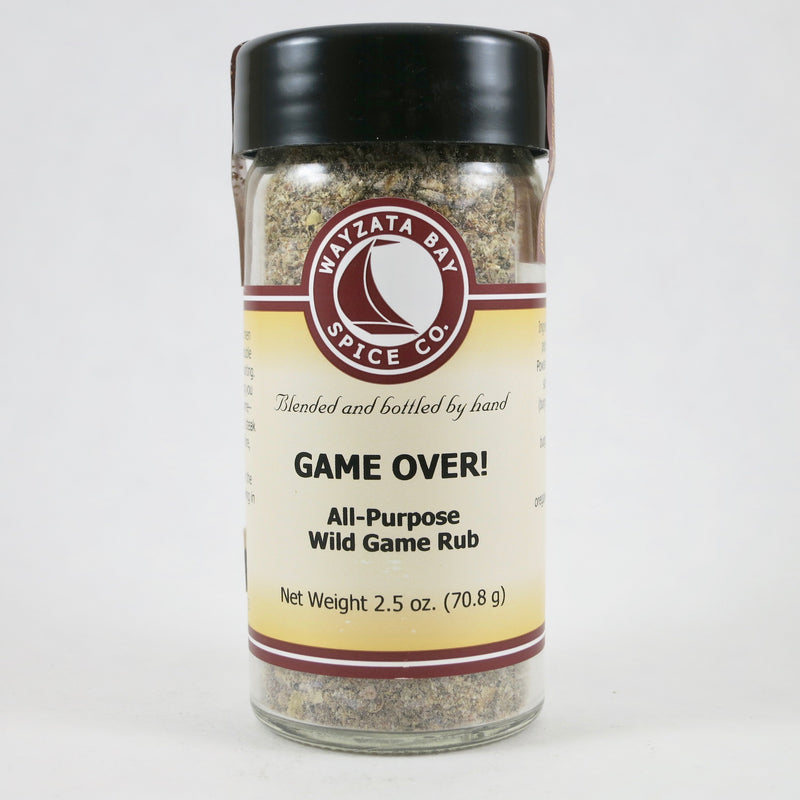 """Game Over! Wild Game Seasoning"""
